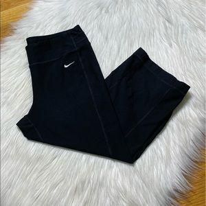 Nike yoga capris